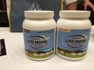 Non denatured whey protein concentrate